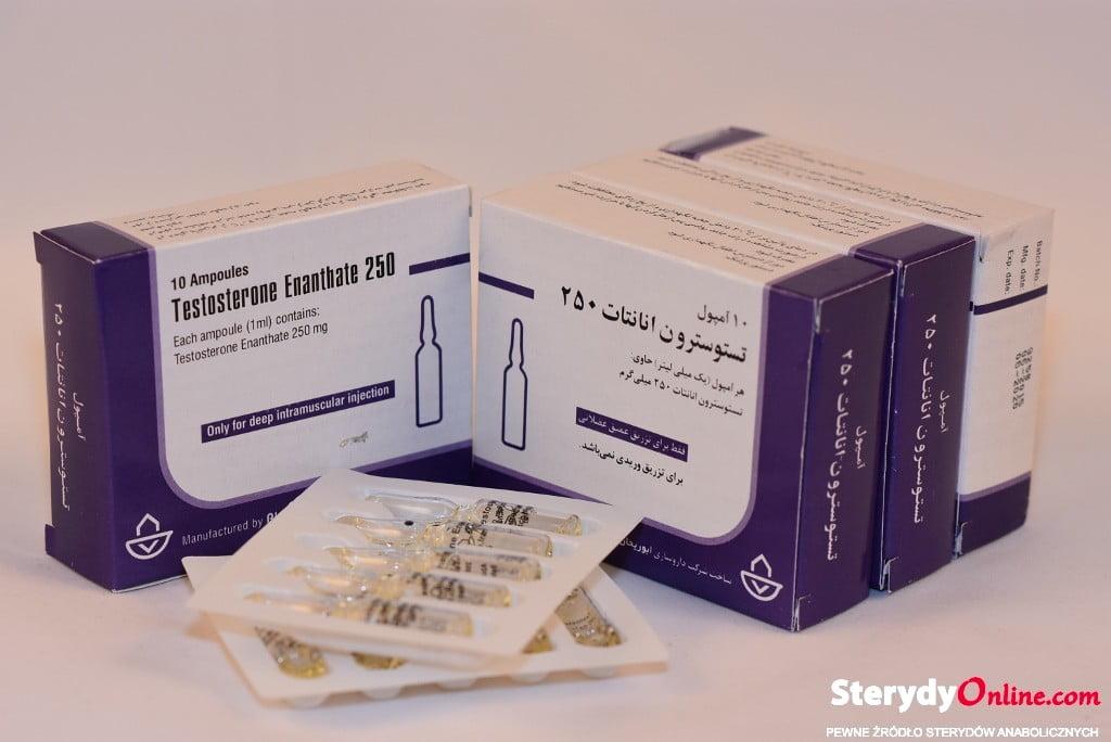 Testosteron Enanthate 1ml inj IRAN