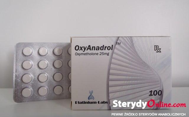 Oxy Anadrol Platinum  (25mg)